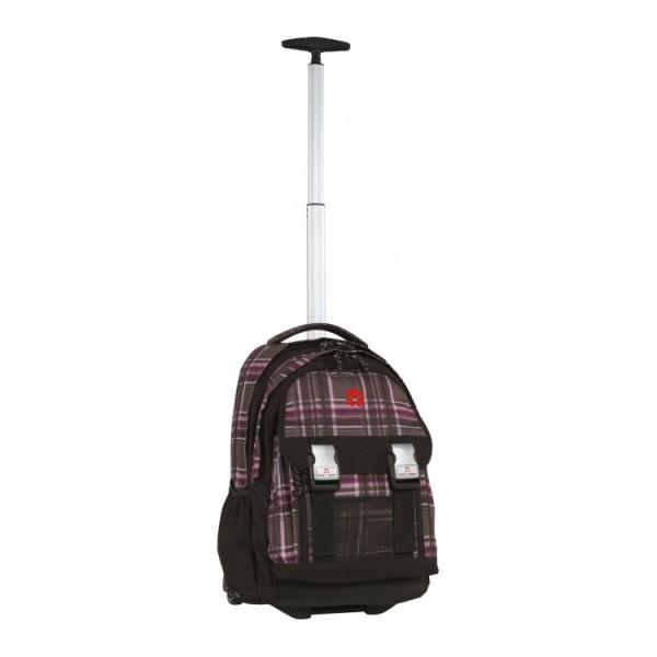 Take It Easy Рюкзак на колесах с телескопической ручкой Виола