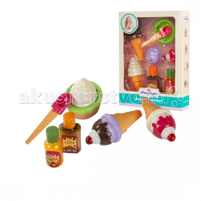 Ролевые игры Mary Poppins Набор Кафе мороженое 453059 mary poppins одежда для куклы 42 см боди mary poppins в ассортименте