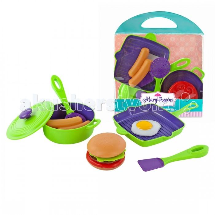 Ролевые игры Mary Poppins Набор посуды для готовки 453027 игра mary poppins набор готовки зайка 453071