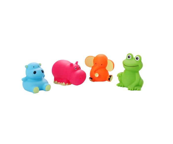 Игрушки для ванны BabyOno Игрушки для ванной Животные средние 4 шт. бегемотика из кожи в москве