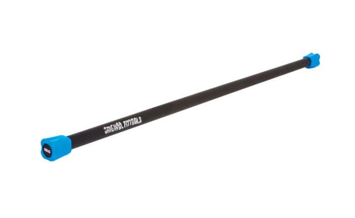 Спортивный инвентарь Original FitTools Бодибар FT 5 кг светло синий наконечник бодибар original fit tools 7 кг оранжевый наконечник ft bdb 7