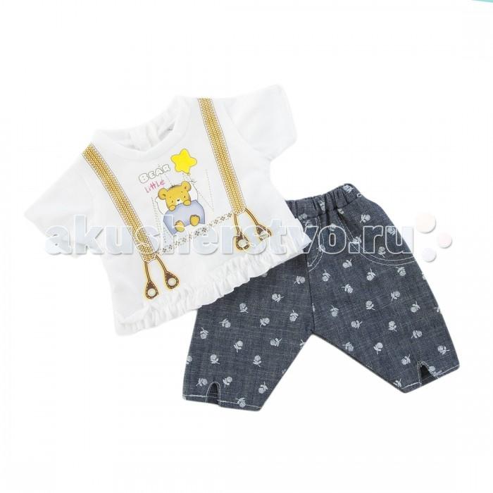 Куклы и одежда для кукол Mary Poppins Одежда для куклы Кофточка и штанишки 452060 одежда для детей