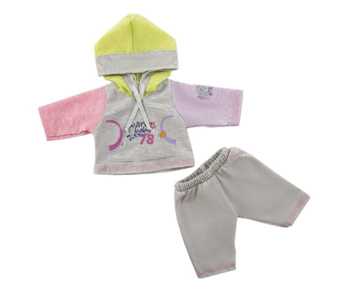 Куклы и одежда для кукол Mary Poppins Одежда для куклы Спортивный костюм 452065 куклы