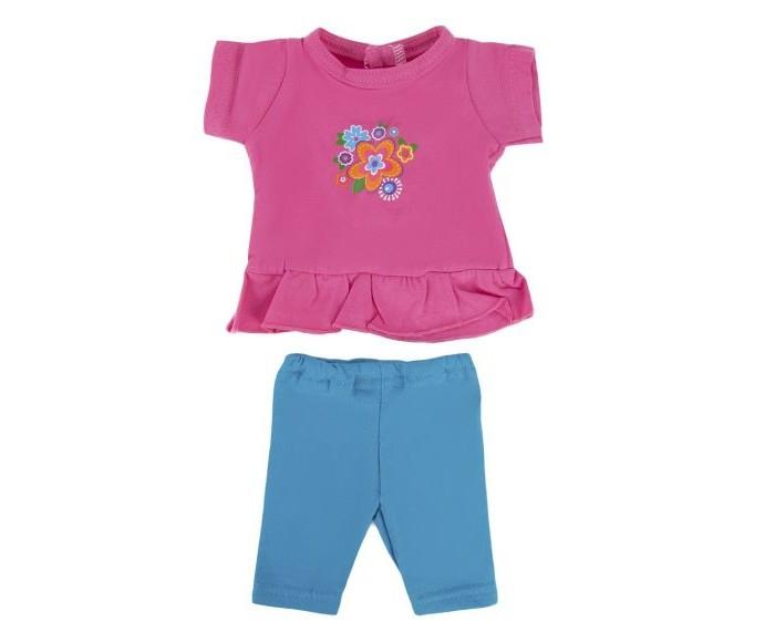 Куклы и одежда для кукол Mary Poppins Одежда для куклы Туника и легинсы Цветочек брендовая одежда