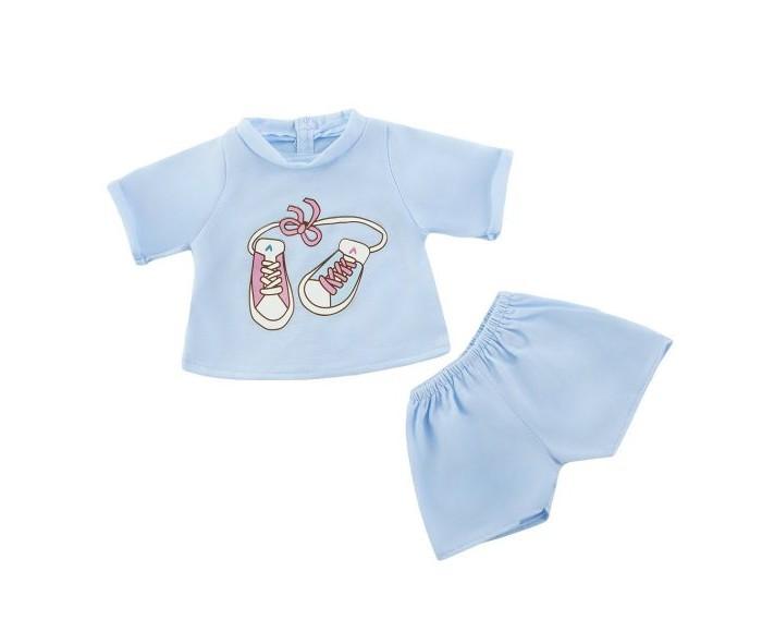 Куклы и одежда для кукол Mary Poppins Одежда для куклы Футболка и шортики брендовая одежда