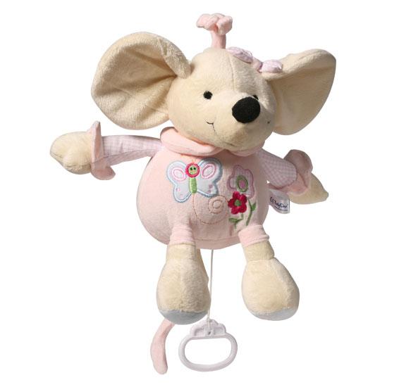 Подвесные игрушки BabyOno Мышка подвесные игрушки babyono музыкальная игрушка собачка вельвет