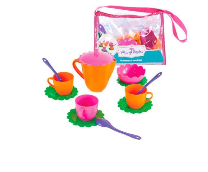 Ролевые игры Mary Poppins Чайный набор Цветок 13 предметов набор чайный желтый цветок 12 предметов