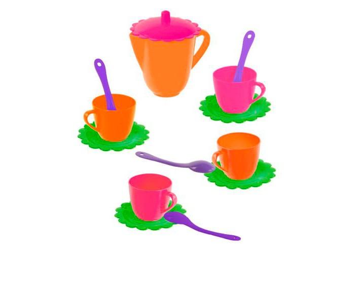 Ролевые игры Mary Poppins Чайный набор Цветок 14 предметов набор чайный желтый цветок 12 предметов