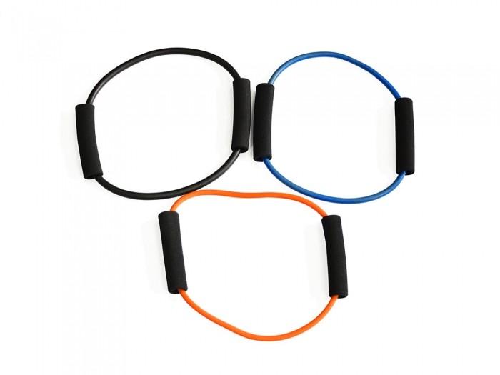 Спортивный инвентарь Original FitTools Набор из трех O-образных эспандеров спортивный инвентарь original fittools эспандер в защитном кожухе слабое сопротивление