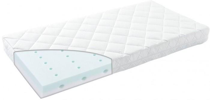 Матрас Leander LineaLineaМатрасик для кроватки Leander Linea - очень комфортный, двухсторонний.  Имеет съемный стеганный чехол с застежкой молния, стирать при температуре 60 градусов С.  Размер: 60х120<br>