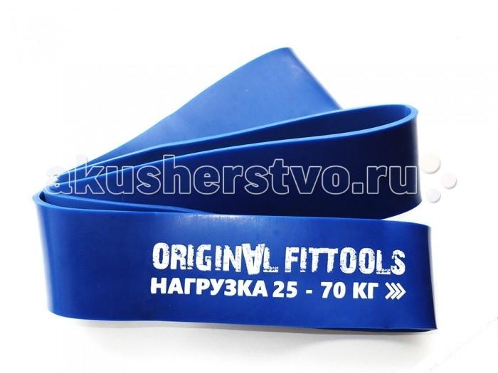 Спортивный инвентарь Original FitTools Эспандер ленточный 2080х64х10 мм эспандер ленточный starfit es 202 с ручками цвет фиолетовый 69 х 16 х 0 1 см