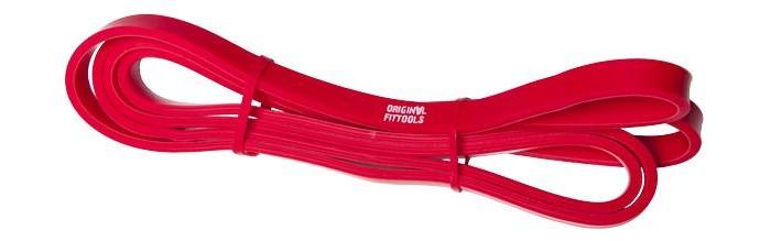 Спортивный инвентарь Original FitTools Эспандер ленточный 2080х13х10 мм спортивный инвентарь original fittools эспандер для ног с регулируемым сопротивлением