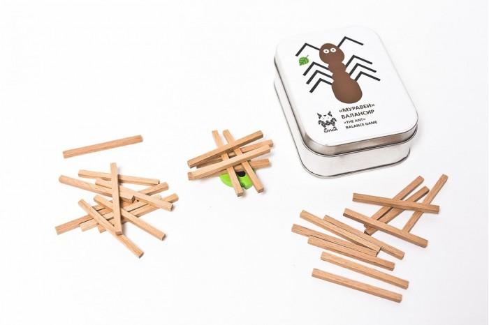 Деревянные игрушки Shusha Муравей-балансир shusha игрушка из дерева shusha сказки