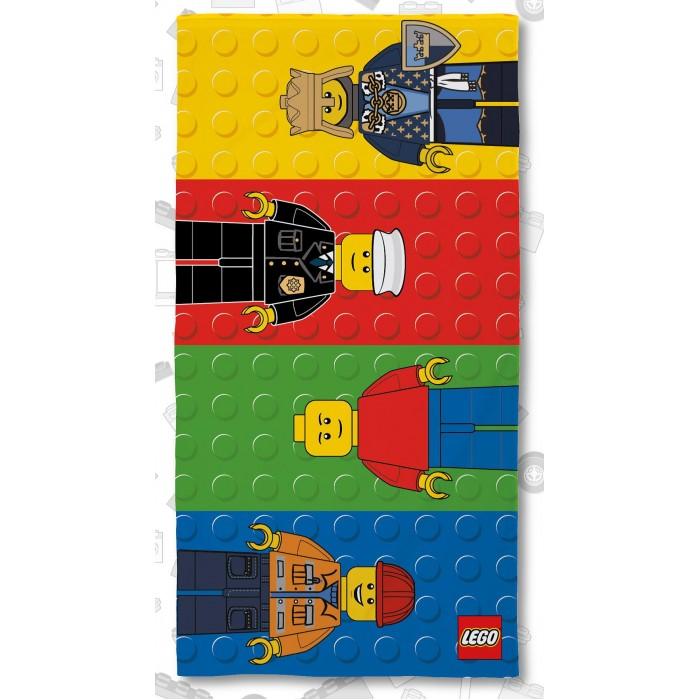 Полотенца Lego Полотенце Classic Minifigures 70х140 полотенца arya полотенце apollo цвет бежевый 70х140 см