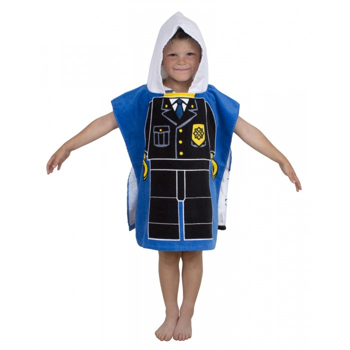 Купание малыша , Полотенца Lego Пончо City Heroes арт: 317139 -  Полотенца