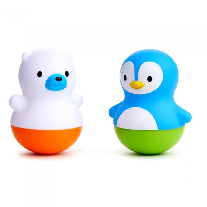 Игрушки для ванны Munchkin Игрушка для ванны Поплавки Медведь и Пингвин игрушки для ванны munchkin игрушка для ванны пингвин пловец