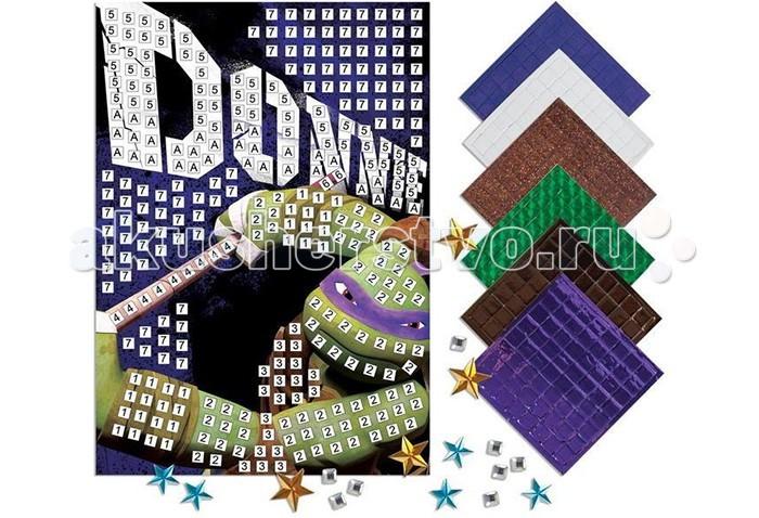 Мозаика Kuso Волшебная мозаика Донателло мозаика по номерам сова origami