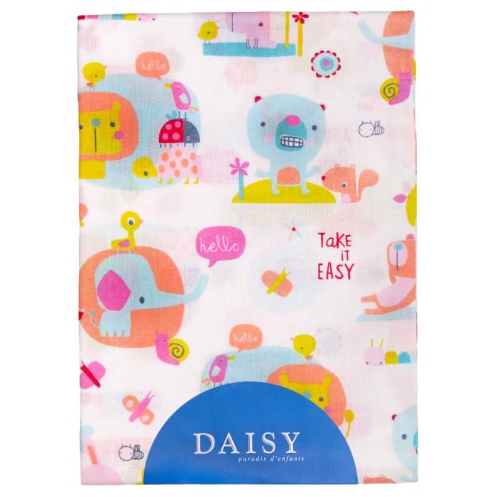 Простыни Daisy Простыня на резинке Слоники 60х120 простыня на резинке хлопковый край