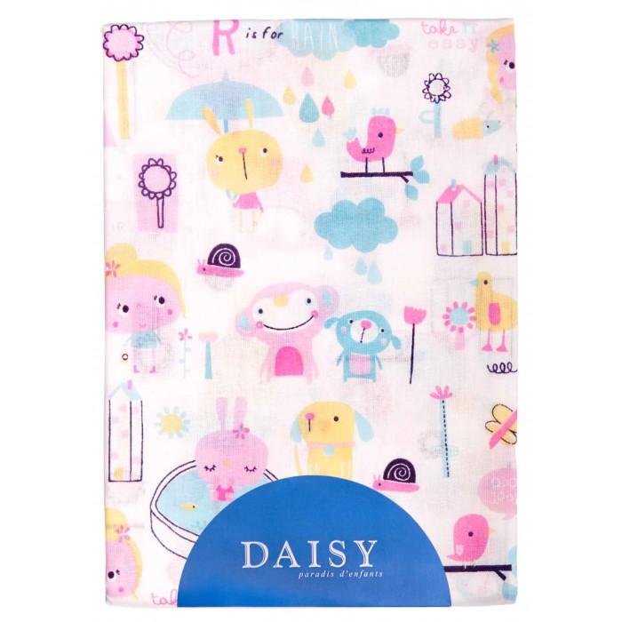 Простыни Daisy Простыня на резинке Девочки 60х120 простыни daisy простыня на резинке мультяшки 60х120