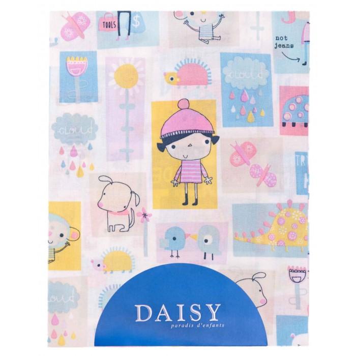 Простыни Daisy Простыня на резинке Дракончик 60х120 простыни daisy простыня на резинке мультяшки 60х120