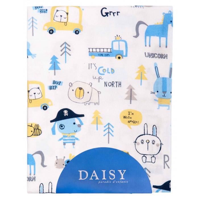 Простыни Daisy Простыня на резинке Пират 60х120 простыни daisy простыня на резинке мультяшки 60х120