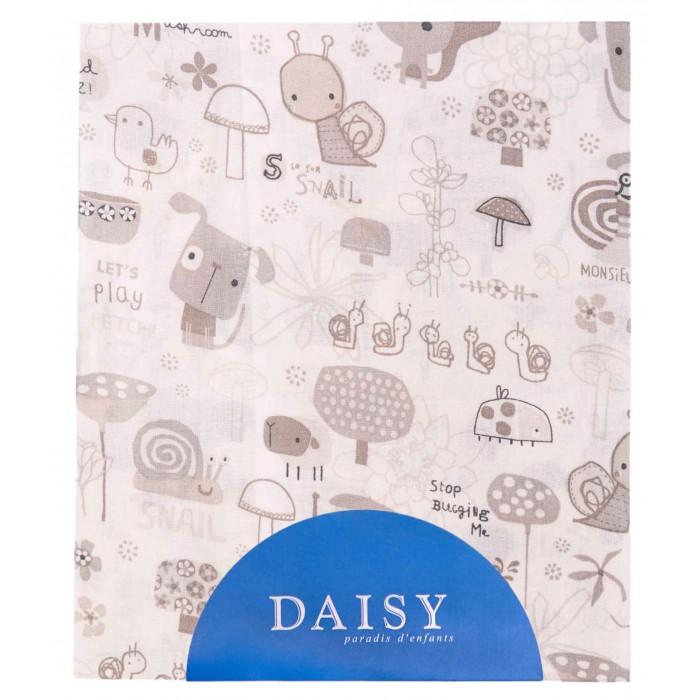 Простыни Daisy Простыня на резинке Улитки 60х120 простыни daisy простыня на резинке мультяшки 60х120