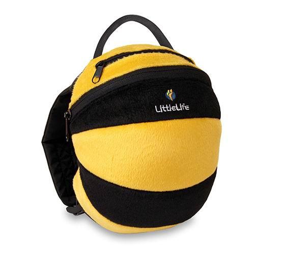 LittleLife Рюкзак с поводком Пчелка