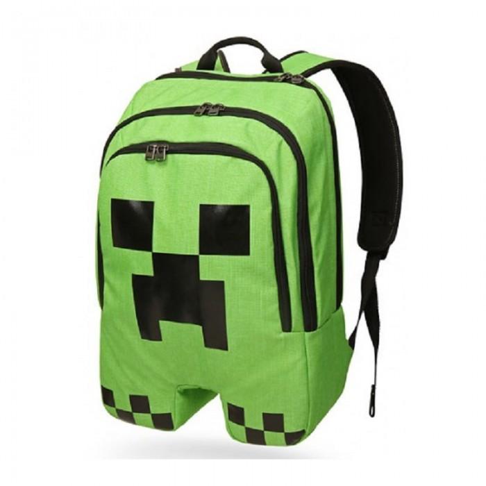 Minecraft Рюкзак CreeperРюкзак CreeperMinecraft Рюкзак Creeper высококачественный рюкзак выполненный по мотивам культовой игры Майнкрафт (Minecraft). Рюкзак выполнен в виде одного из врагов главного героя игры, а именно Крипера (creeper). Так же стоит отметить что в рюкзаке имеется отделение для ноутбука, что несомненно огромный плюс.<br>