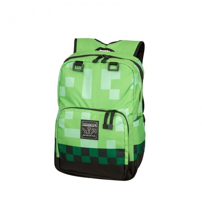 Minecraft Рюкзак Creeper backpackРюкзак Creeper backpackMinecraft Рюкзак Creeper backpack враждебные мобы не будут связываться с тобой, когда за спиной ты тащишь самое опасное существо вселенной Майнкрафт.   Рюкзак Майнкрафт с двумя основными отделениями для хранения наиболее ценных предметов. Отделение на молнии для ноутбука, боковые карманы, регулируемые и прочные плечевые ремни.   Особенности: размеры  высота 45 см  ширина 33 см  глубина 22 см.<br>