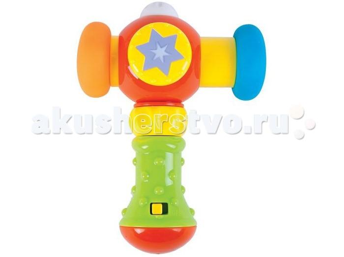 Развивающие игрушки Жирафики Сияющий молоточек жирафики развивающая игрушка цветной мячик в ассорименте жирафики