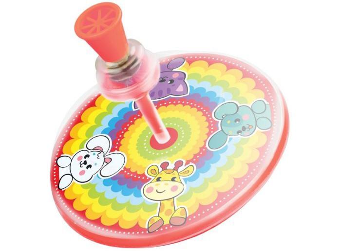 Развивающие игрушки Жирафики Юла Радуга кружка радуга 305мл фарфор