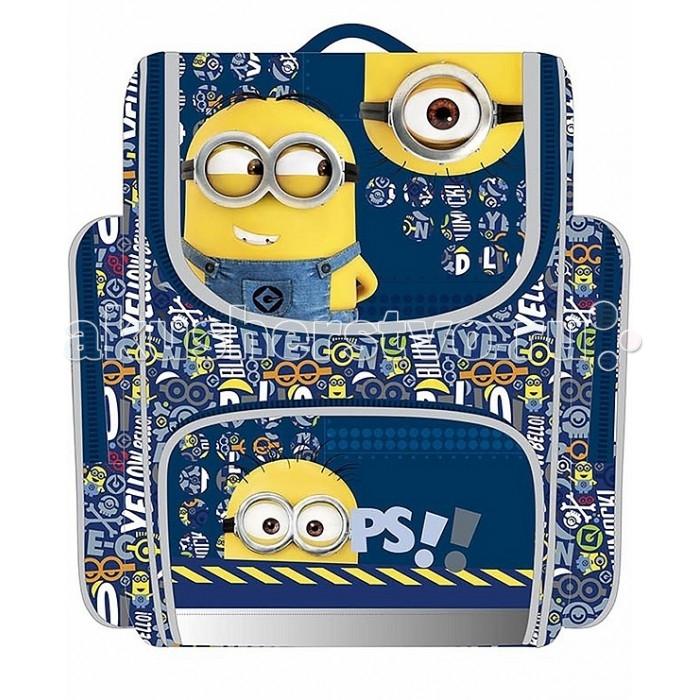 Развитие и школа , Школьные рюкзаки Universal Рюкзак с усиленной спинкой Миньоны 31896 арт: 319859 -  Школьные рюкзаки