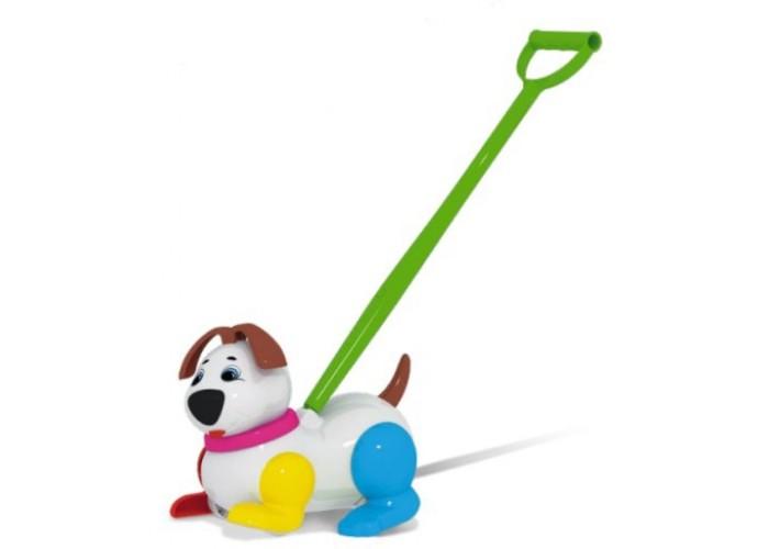 Каталки-игрушки Стеллар Собачка стеллар погремушка дудочка стеллар