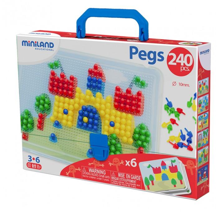 Miniland Мозаика 240 элементовМозаика 240 элементовКлассическая мозаика - это отличный вариант упражнений на развитие концентрации ребенка, а так же зрительно-моторная координации, творчества, пространственной ориентации.  А благодаря ярким элементам Ваш малыш быстро научится различать цвета.  Дополнительная информация: инструкция 6 рабочих листов  240 элементов мозаики толщина мозаики 10 мм<br>