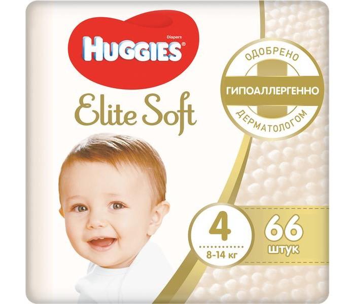 Подгузники Huggies Подгузники Elite Soft Mega 4 (8-14 кг) 66 шт.