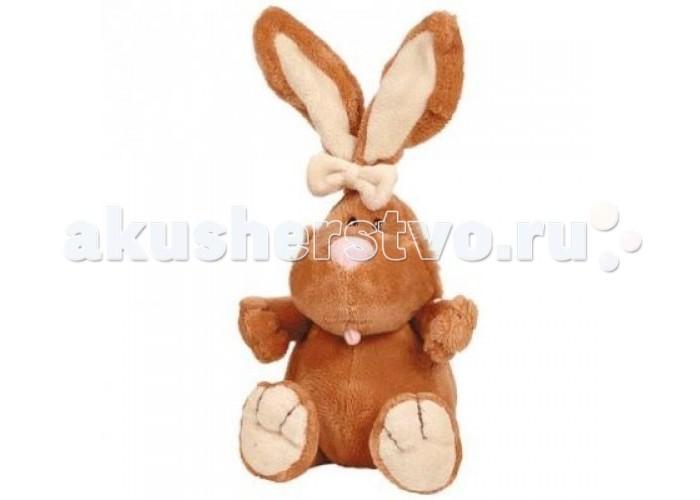 Мягкие игрушки Gulliver Кролик коричневый 40 см