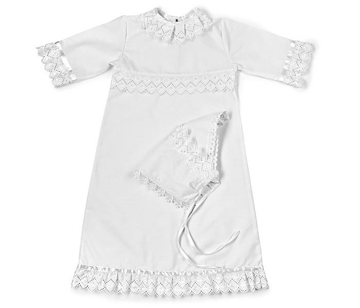 крестильный набор choupette для девочки Крестильная одежда Осьминожка Набор крестильный для девочки