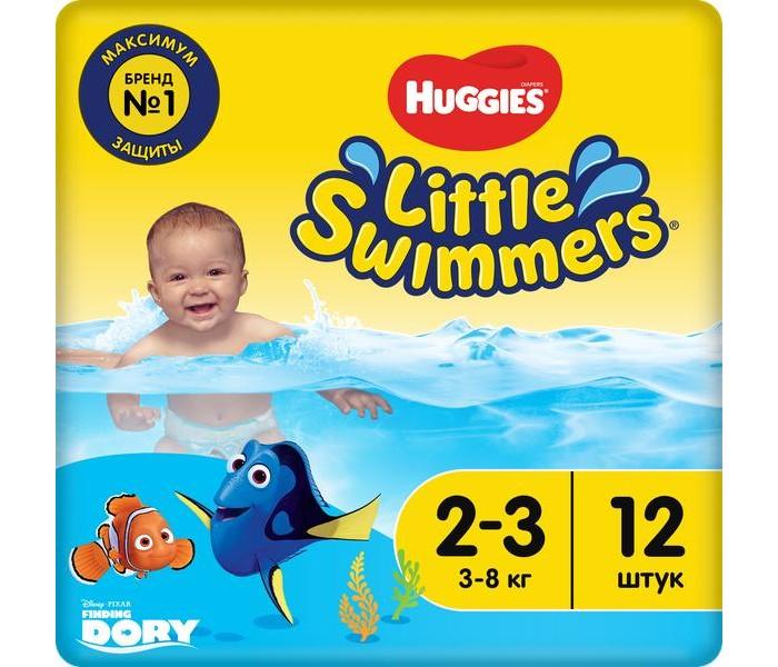 Подгузники Huggies Подгузники для плавания 2-3 (3-8 кг) 12 шт.