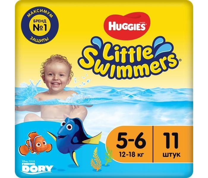 Подгузники Huggies Трусики-подгузники для плавания 5-6 (12-18 кг) 11 шт. куплю air swimmers в москве