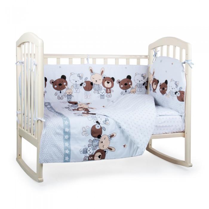 Комплект в кроватку Alis Лучшие друзья (4 предмета)