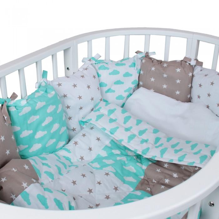 Комплект в кроватку Alis Кубики (5 предметов)