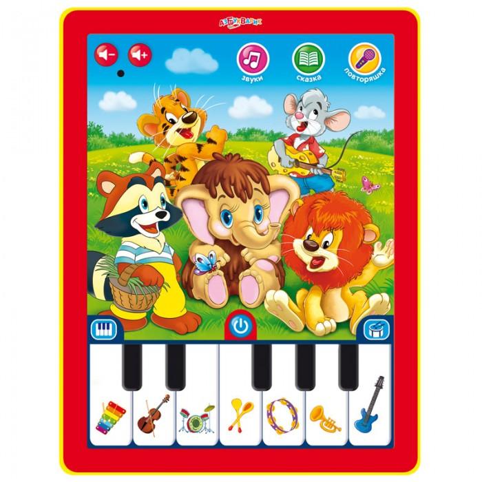 Электронные игрушки Азбукварик Планшетик Мультяшки-повторяшки планшетик азбукварик сказочка для маленьких new