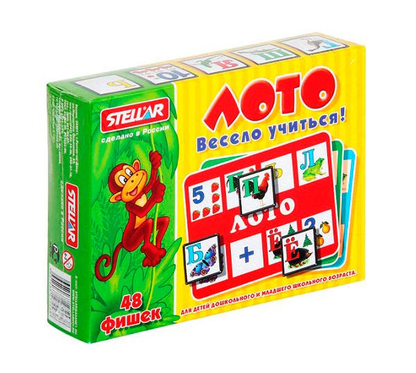 Настольные игры Стеллар Лото Весело учиться настольные игры стеллар лото для девочек