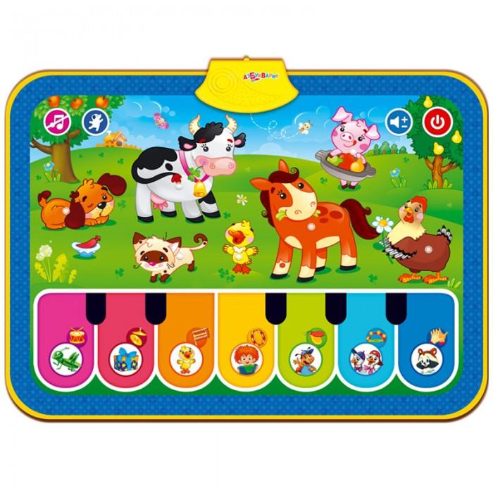 Музыкальные игрушки Азбукварик Коврик Веселая ферма ebulobo коврик развивающий веселая ферма