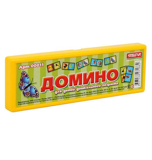 Настольные игры Стеллар Домино Животные стеллар домино обитатели леса стеллар