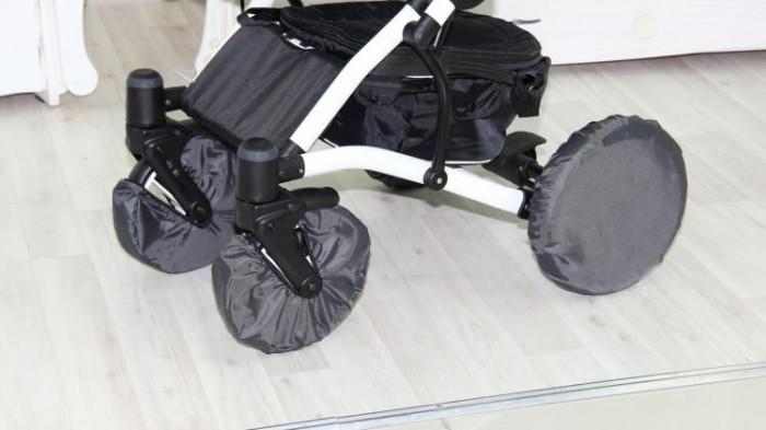 аксессуары для колясок папитто чехлы на колеса коляски 1169 4 шт Аксессуары для колясок Юкка Чехлы для коляски с поворотными колесами 25 см