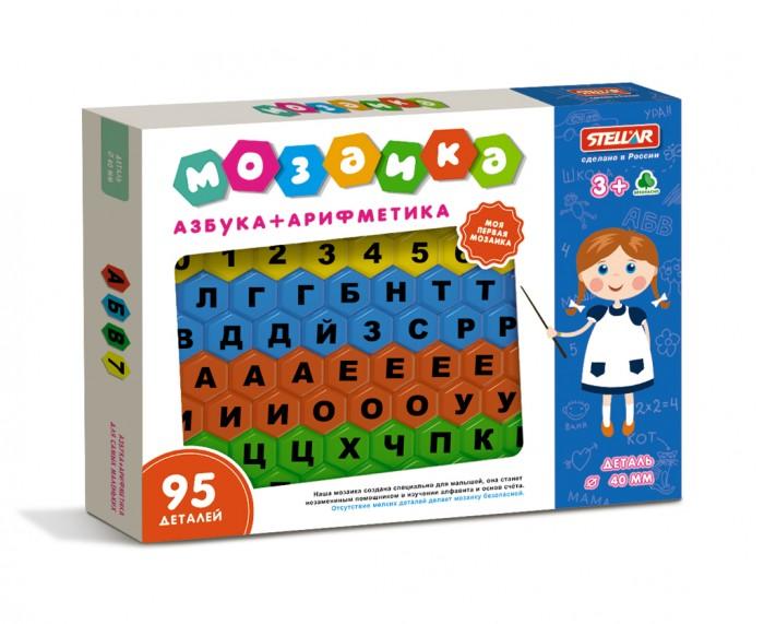 Мозаика Стеллар Мозаика Азбука + арифметика стеллар настольная игра стану отличником азбука арифметика стеллар