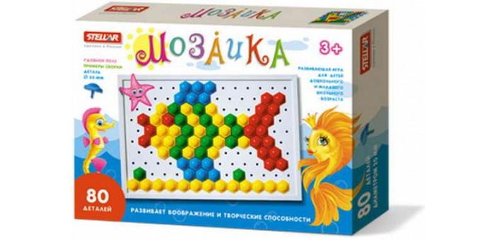 Мозаика Стеллар Мозаика 20 мм игра мозаика с аппликацией медовая сказка d10 d15 d20 105 5 цв 6 аппл 2 поля