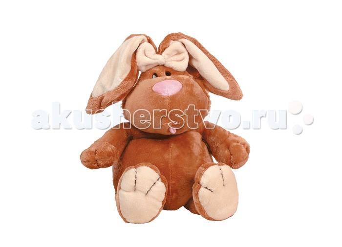 Мягкие игрушки Gulliver Кролик коричневый 23 cм мягкие игрушки gulliver ежик
