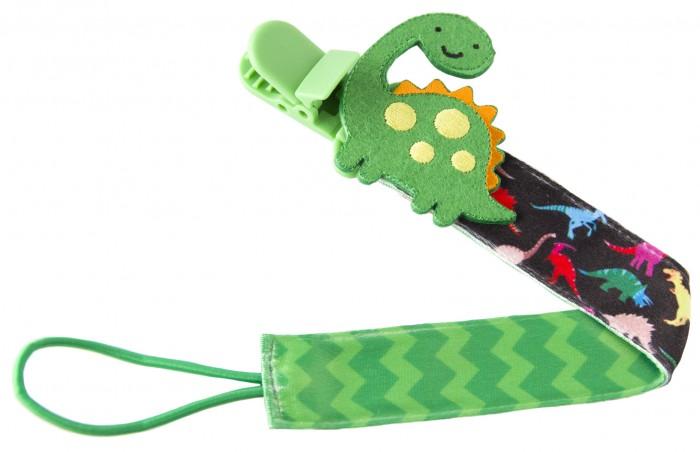 Фото - Аксессуары для пустышек ROXY-KIDS Держатель для пустышек с игрушкой Дино аксессуары для пустышек bebek прищепка для пустышек